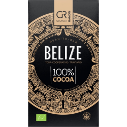 Chocolat Noir Bio Belize 100% de Georgia Ramon - Bean to Bar - O'KOKOA