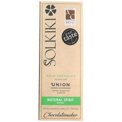 Solkiki House White avec Natural Spirit Coffee – Chocolat...