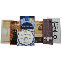 lot de chocolats grands crus médaillés issus du Bean to bar