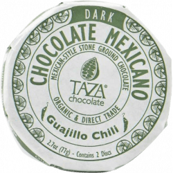 Chocolat Noir au Piment Guajillo Chili par Taza Chocolate
