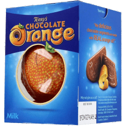 Chocolat au lait à l'extrait naturel d'orange par Terry's Chocolate Orange