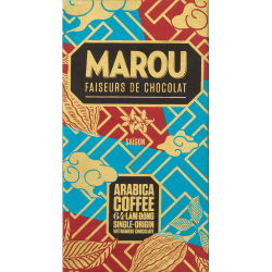 Marou Coffee - Chocolat noir 64% Lâm Đồng - Marou Chocolate Origins Plus