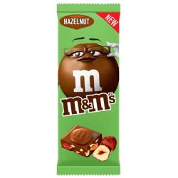 m&m's hazelnut, la nouvelle tablette m&m's noisette !!