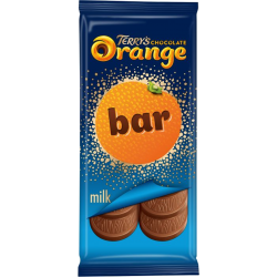 Tablette chocolat au lait à l'extrait naturel d'orange par Terry's Chocolate Orange