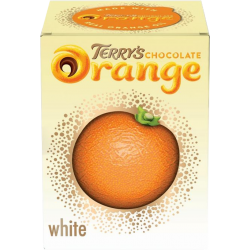 Chocolat blanc à l'extrait naturel d'orange par Terry's Chocolate Orange